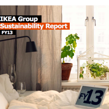 The IKEA Group Sustainability Report FY13