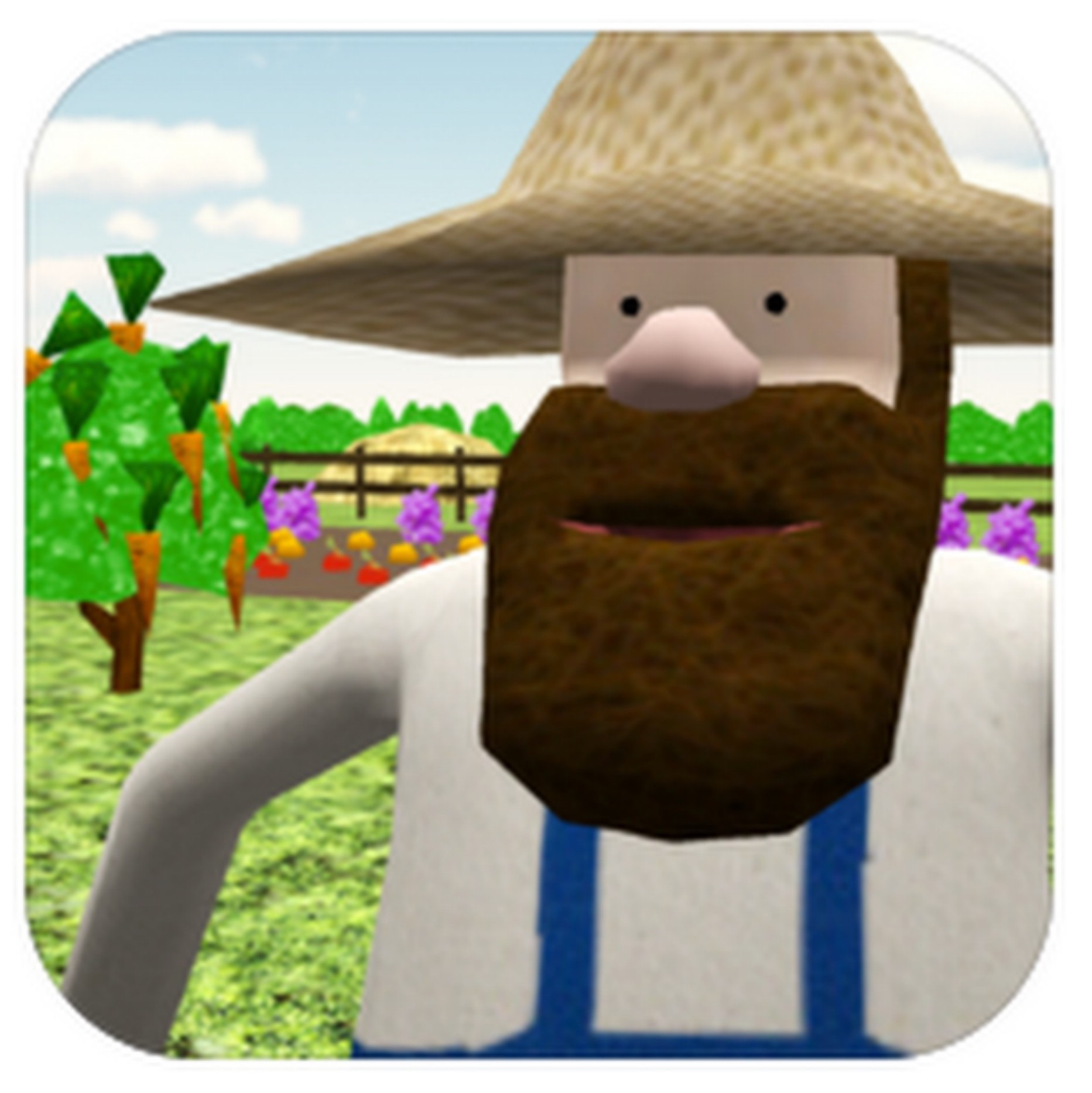 App icon for Uncle Muddle's Farm by Rachel Hahn